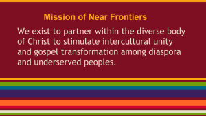 Mission of Near Frontiers