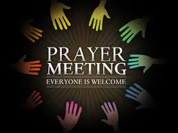prayer meeting invite