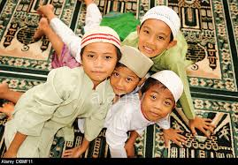 kids at mosque